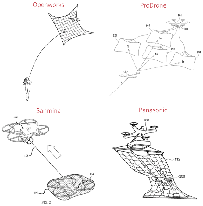 Anti-drone patent drawings